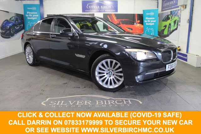 USED 2012 61 BMW 7 SERIES 3.0 730D SE 4d 242 BHP Huge Spec, £4645 of Extras