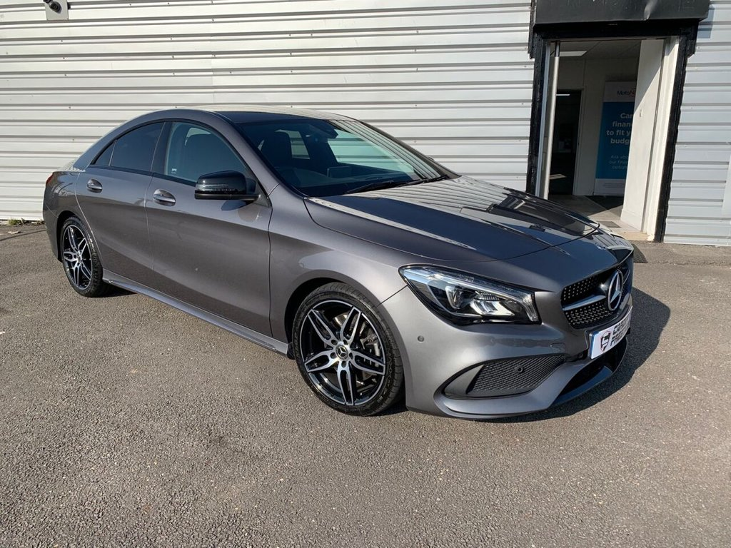 USED 2018 18 MERCEDES-BENZ CLA 2.1 CLA 220 D AMG LINE 4d 174 BHP Mercedes Warranty!
