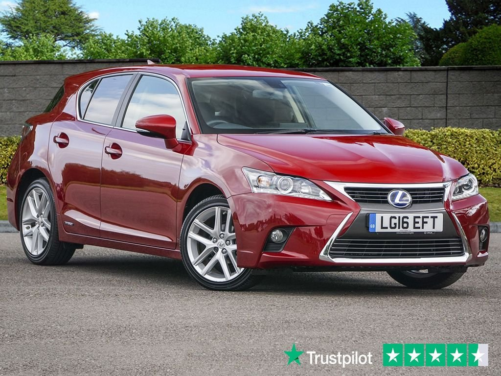 USED 2016 16 LEXUS CT 1.8 200H LUXURY CVT Auto Self Charging Hybrid Navigator ONE OWNER From NEW