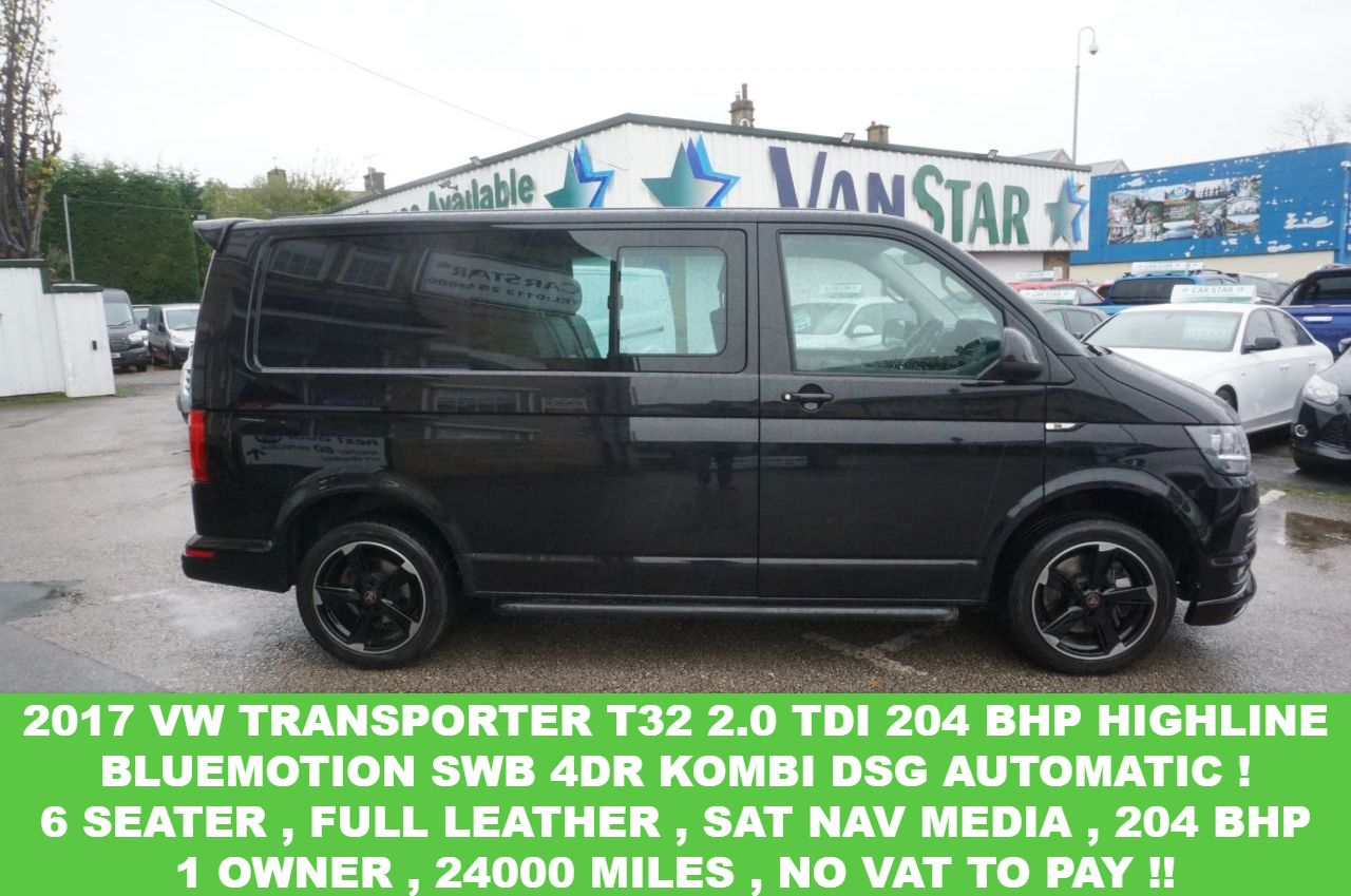 2017 Volkswagen Transporter T32 Tdi W V Bmt 30 989