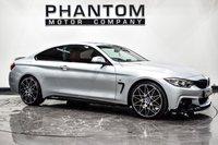 USED 2016 x BMW 4 SERIES 2.0 420D M SPORT 2d 188 BHP
