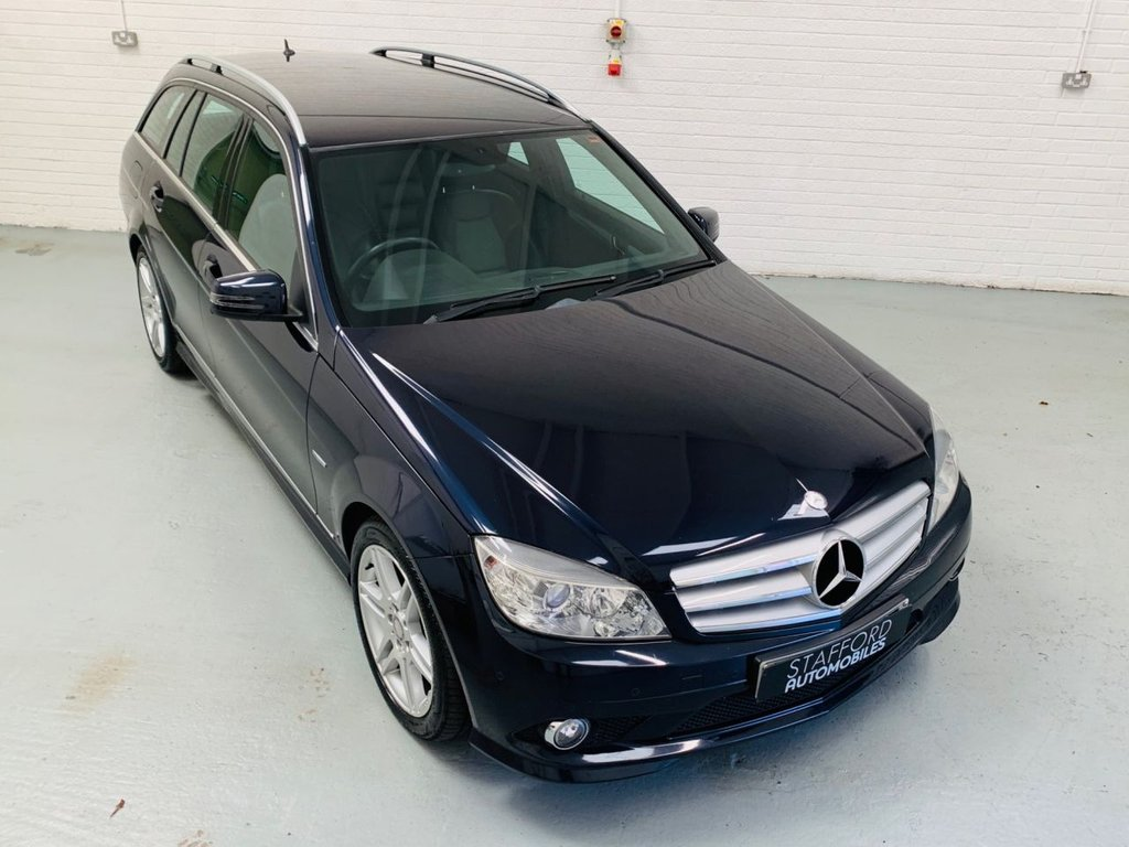 USED 2010 60 MERCEDES-BENZ C-CLASS 2.1 C250 CDI BLUEEFFICIENCY SPORT 5d 204 BHP 1 FORMER KEEPER, SAT NAV, HEATED LEATHER, MANUAL