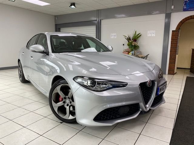 USED 2017 67 ALFA ROMEO GIULIA 2.1 TD SPECIALE 4d 178 BHP / LEATHER TRIM / AUTOMATIC ONLY 27100 MILES / LOVELY SPECIFICATION