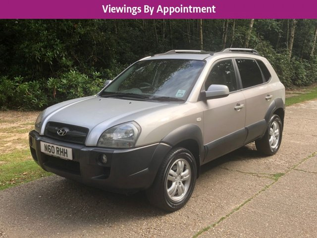 USED 2008 58 HYUNDAI TUCSON 2.7 CDX V6 4WD 5d 173 BHP 4WD 4X4 AUTO MANY EXTRAS FINANCE ME TODAY-UK DELIVERY POSSIBLE