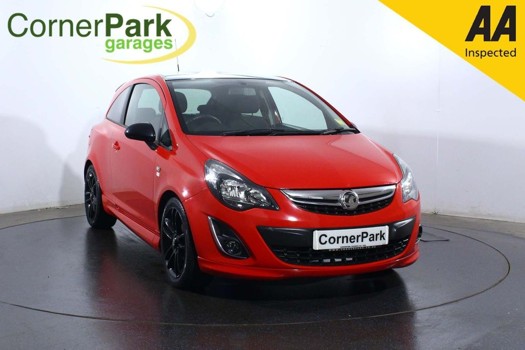 USED 2014 14 VAUXHALL CORSA 1.2 i 16v Limited Edition 3dr (a/c)