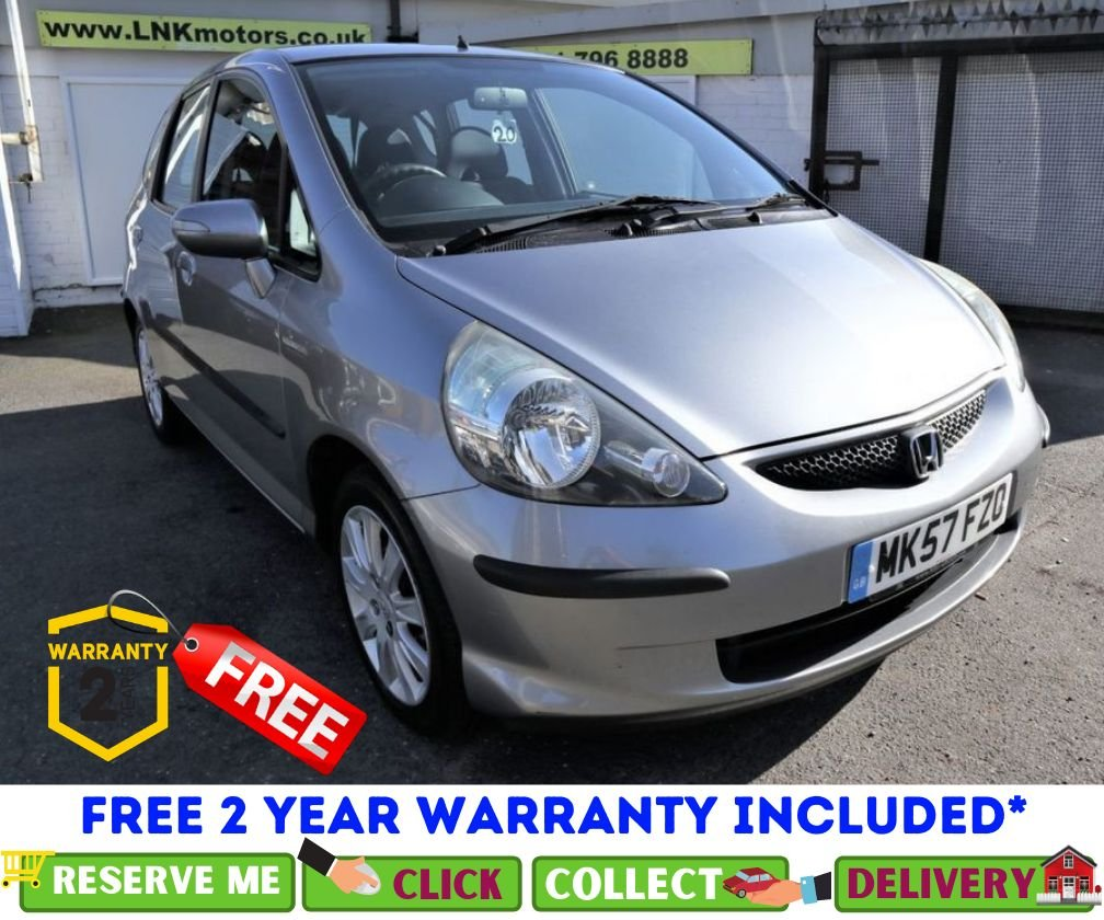 USED 2007 57 HONDA JAZZ 1.3 DSI SE 5d 82 BHP *CLICK & COLLECT OR DELIVERY