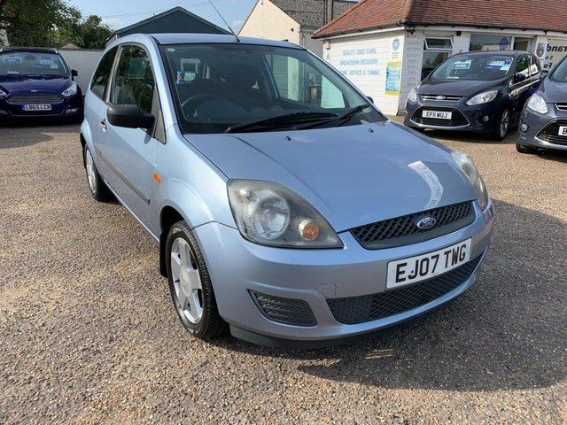USED 2007 07 FORD FIESTA 1.2 STYLE 16V 3d 78 BHP 12 MONTH MOT / CAM BELT AND WATER PUMP DONE