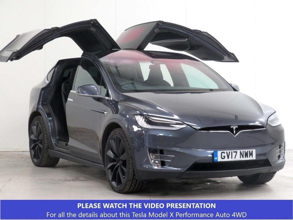 USED 2017 17 TESLA MODEL X P100D Auto 4WD 5dr (Ludicrous) £19k XTRA*SELFDRIVE*AUTOPILOT