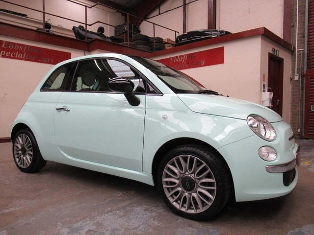 USED 2014 64 FIAT 500 1.2 Cult (s/s) 3dr ***ONLY 2300 MILES FROM NEW***