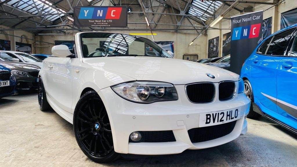 USED 2012 12 BMW 1 SERIES 2.0 118d M Sport 2dr 19'403MS+HALFLTHR+PARKINGSEN