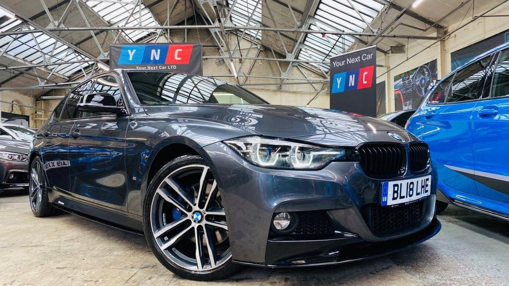 USED 2018 18 BMW 3 SERIES 2.0 330e 7.6kWh M Sport Shadow Edition Auto (s/s) 4dr PERFORMANCEKIT+SHADOW+1OWN!