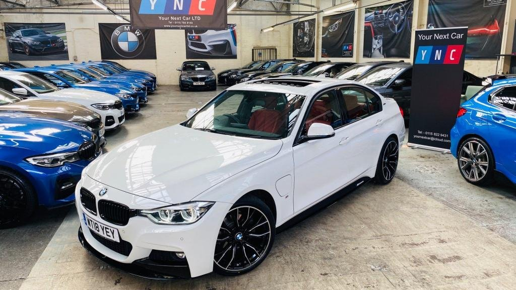 USED 2018 18 BMW 3 SERIES 2.0 330e 7.6kWh M Sport Auto (s/s) 4dr PERFORMANCEKIT+SUNROOF+19S