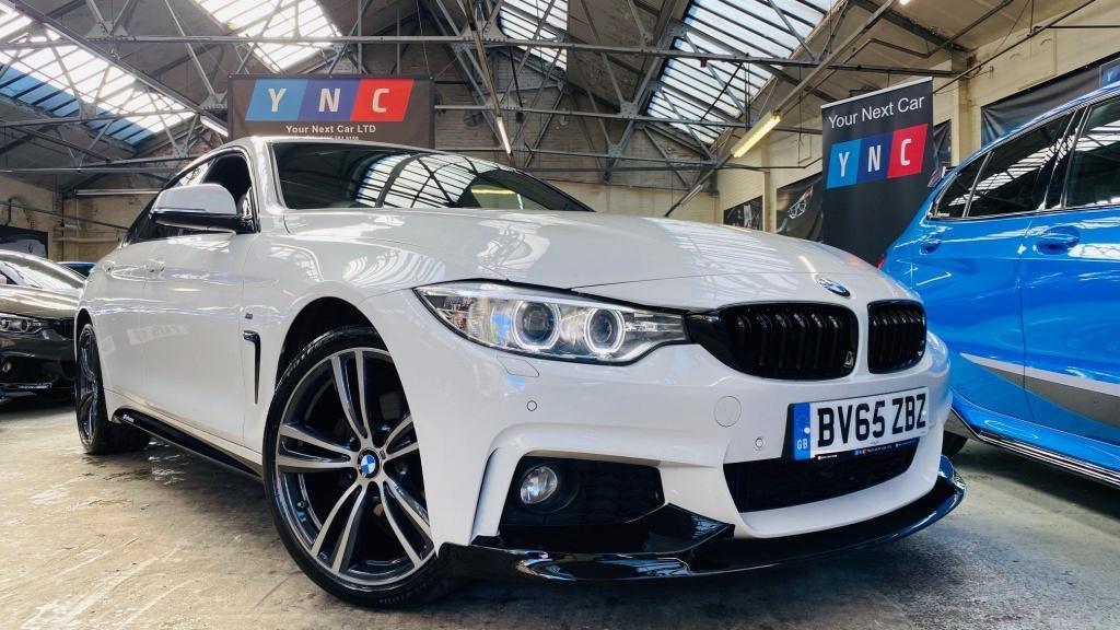 USED 2015 65 BMW 4 SERIES 2.0 420d M Sport Gran Coupe xDrive (s/s) 5dr PERFORMANCEKIT+19S+HARMANKARDN
