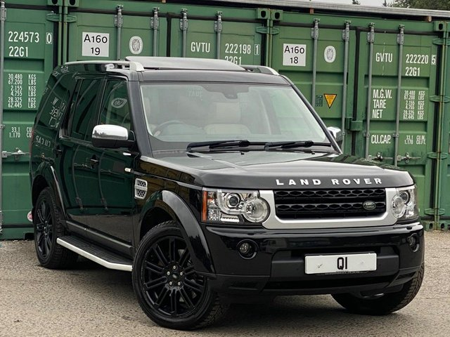 USED 2012 62 LAND ROVER DISCOVERY 3.0 SD V6 HSE Luxury 5dr BUY ONLINE + FREE DELIVERY