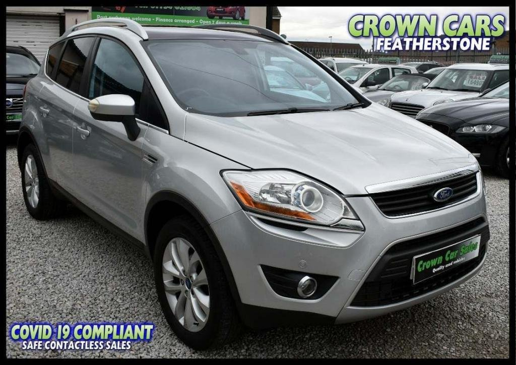 USED 2010 59 FORD KUGA 2.0 TDCi Titanium 5dr AMAZING LOW RATE FINANCE DEALS