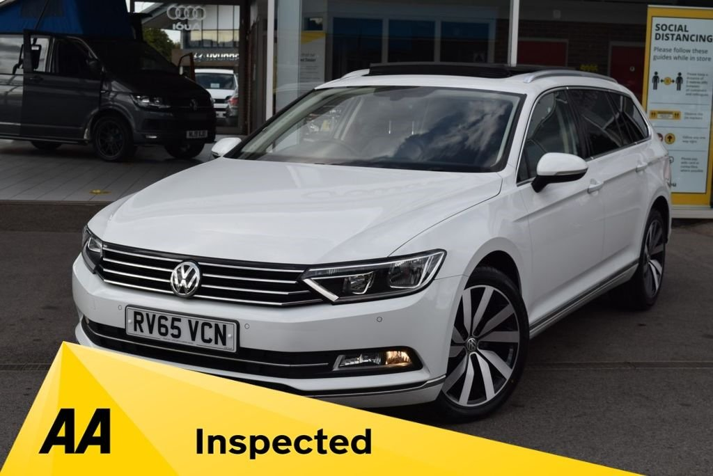 USED 2015 65 VOLKSWAGEN PASSAT 1.6 GT TDI BLUEMOTION TECHNOLOGY 5d 119 BHP FINANCE TODAY WITH NO DEPOSIT.  SERVICE HISTORY - FOUR STAMPS