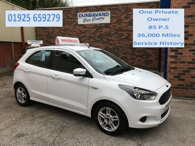 USED 2017 67 FORD KA+ 1.2 ZETEC 5d 84 BHP One Private Owner, Service History, Only 36,000 Miles, 12 Mths Mot.