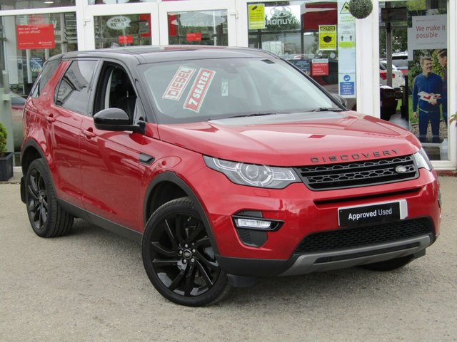2017 67 LAND ROVER DISCOVERY SPORT 2.0 TD4 HSE BLACK 5d 180 BHP