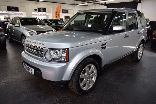 USED 2010 10 LAND ROVER DISCOVERY 4 3.0 4 TDV6 GS 5d 245 BHP GREAT VALUE DISCO 4 GS  AUTO - 7 SEATS - 8 STAMPS TO 106K - FULL LEATHER - HARMAN KARDON SPEAKERS - TOWBAR - 19 INCH ALLOYS