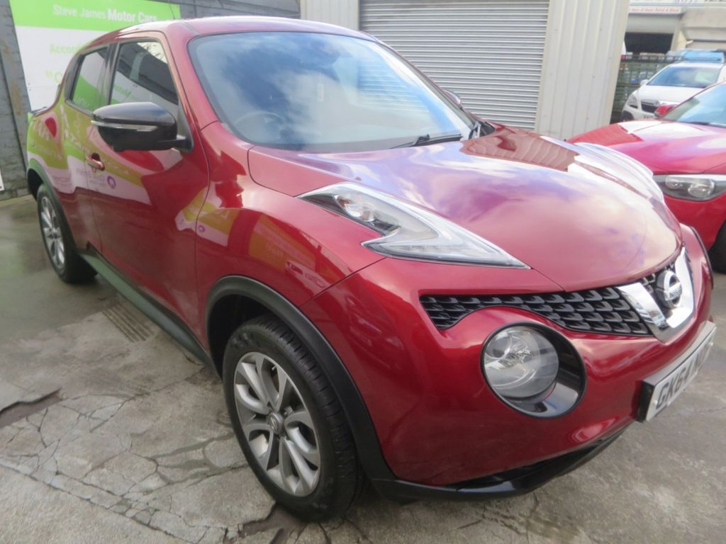 USED 2014 64 NISSAN JUKE 1.5 TEKNA DCI 5d 110 BHP * NAV/CAMERA + FULL LEATHER *