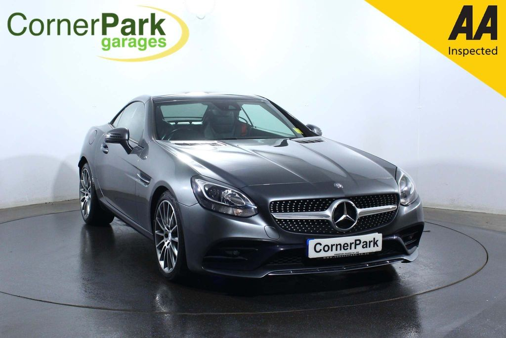 USED 2016 16 MERCEDES-BENZ SLC 2.1 SLC 250 D AMG LINE 2d 201 BHP CONVERTIBLE ROOF - LEATHER