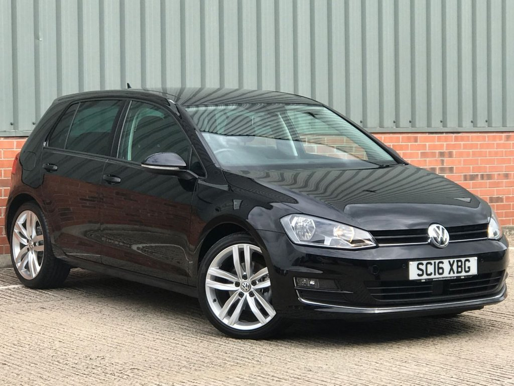 USED 2016 16 VOLKSWAGEN GOLF 1.6 GT EDITION TDI BLUEMOTION TECHNOLOGY DSG 5d 109 BHP EXCELLENT LOW MILEAGE EXAMPLE