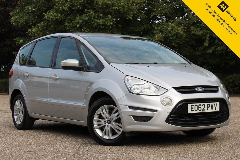 USED 2012 62 FORD S-MAX 2.0 ZETEC TDCI 5d 138 BHP ** GREAT VALUE LOW MILEAGE  AUTOMATIC 7 SEATER ** BRAND NEW ADVISORY FREE MOT + SERVICE ** FRONT + REAR PARKING AID ** CLIMATE CONTROL ** BLUETOOTH ** LOW RATE £0 DEPOSIT FINANCE AVAILABLE **