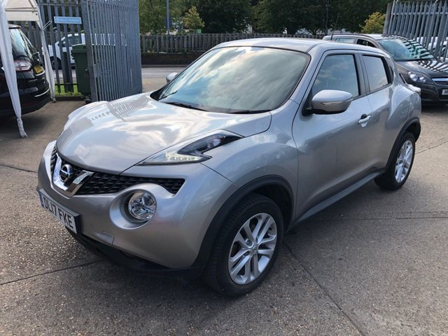 USED 2017 17 NISSAN JUKE 1.6 N-CONNECTA XTRONIC 5d 117 BHP