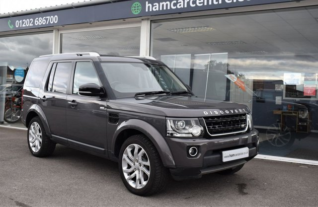 2016 16 LAND ROVER DISCOVERY 4 3.0 SDV6 LANDMARK 5d 255 BHP AUTO DVDS LOW-MILES VAT QUALIFYING