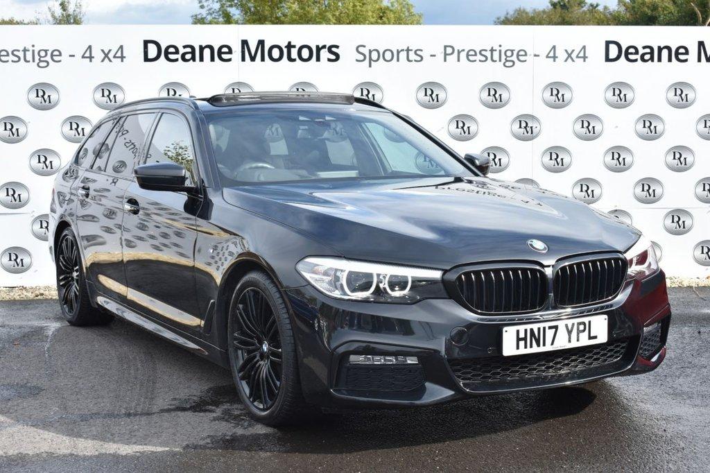 USED 2017 17 BMW 5 SERIES 2.0 520D M SPORT TOURING 5d 188 BHP M SPORT PLUS PACK