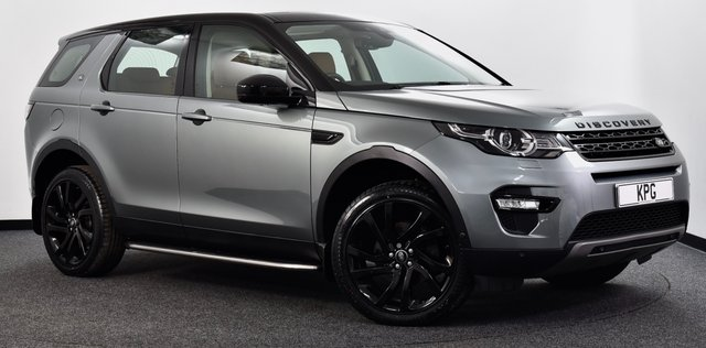 USED 2016 66 LAND ROVER DISCOVERY SPORT 2.0 TD4 HSE Luxury Auto 4WD (s/s) 5dr 7 Seat Pan Roof, Hot/Cold Seats, Nav+