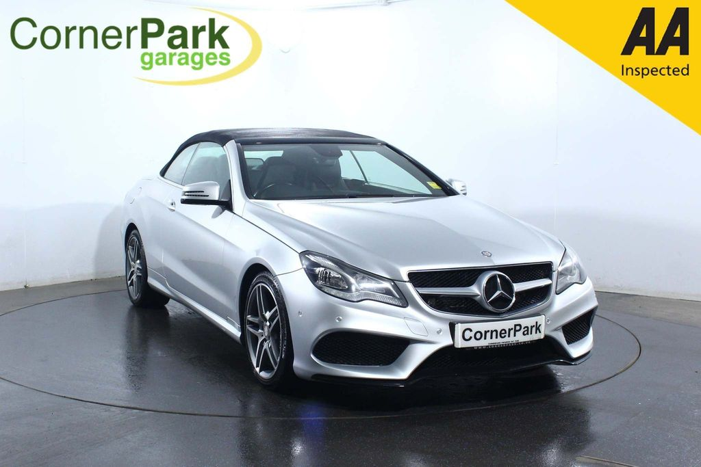 USED 2014 14 MERCEDES-BENZ E-CLASS 3.0 E350 BLUETEC AMG SPORT 2d 252 BHP AIR CONDITIONING - SAT NAV