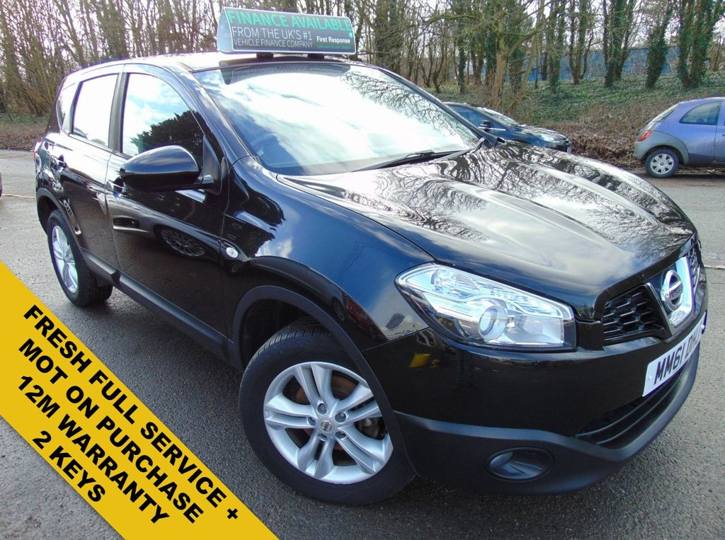USED 2012 61 NISSAN QASHQAI 1.6 ACENTA 5d 117 BHP FRESH FULL SERVICE ON PURCHASE