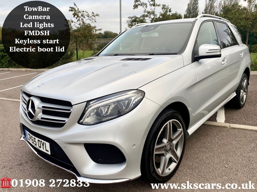 USED 2016 65 MERCEDES-BENZ GLE-CLASS 2.1 GLE 250 D 4MATIC AMG LINE 5d 201 BHP **12 MONTHS NATIONAL WARRANTY**