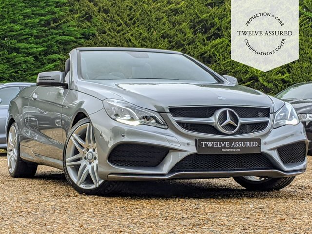 USED 2013 63 MERCEDES-BENZ E-CLASS 3.0 E350 BLUETEC AMG SPORT 2d AUTO 252 BHP (AIRSCARF & REAR CAMERA)