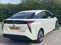 USED 2016 16 TOYOTA PRIUS 1.8 VVT-I EXCEL 5d 97 BHP FULL HEATED TWO TONE LEATHER INTERIOR