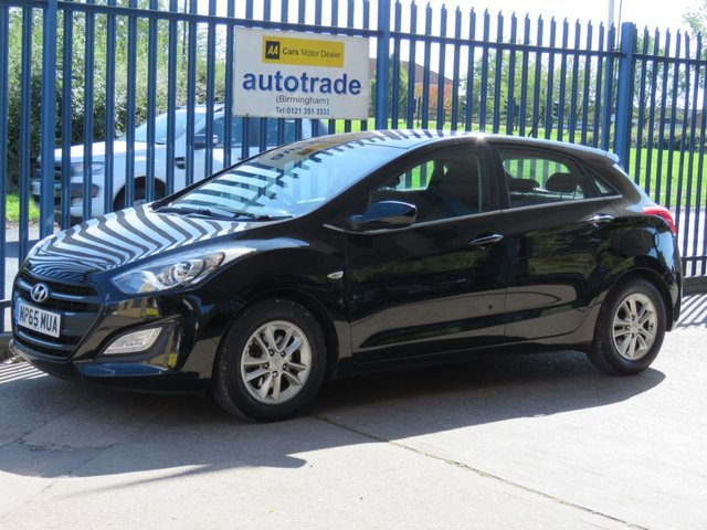 USED 2016 65 HYUNDAI I30 1.6 CRDI SE BLUE DRIVE 5d 109 BHP 1 OWNER, AIR CON, ALLOYS BLUETOOTH 1 OWNER, SERVICE HISTORY, REAR PARKING SENSORS, CRUISE CONTROL, BLUETOOTH WITH USB, ALLOY WHEELS, LED DAYTIME RUNNING LIGHTS,