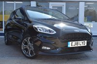 USED 2018 18 FORD FIESTA 1.0 ST-LINE 3d 124 BHP AVAILABLE FOR ONLY £250 PER MONTH WITH £0 DEPOSIT
