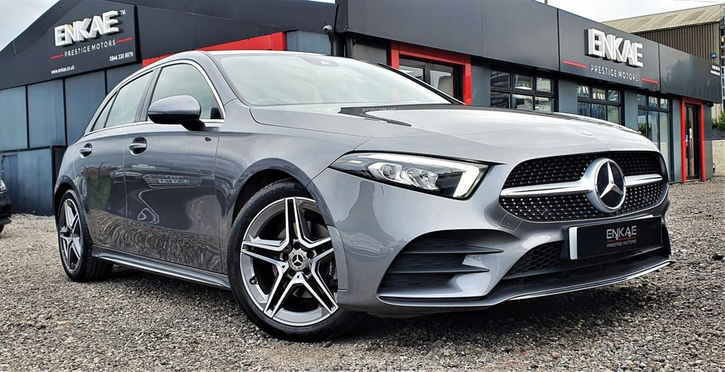 USED 2019 19 MERCEDES-BENZ A-CLASS 1.3 A 200 AMG LINE 5d 161 BHP