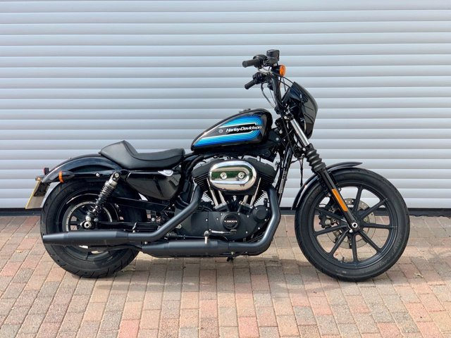USED 2019 68 HARLEY-DAVIDSON SPORTSTER XL IRON 1200 NS Genuine One Owner, Low Mileage