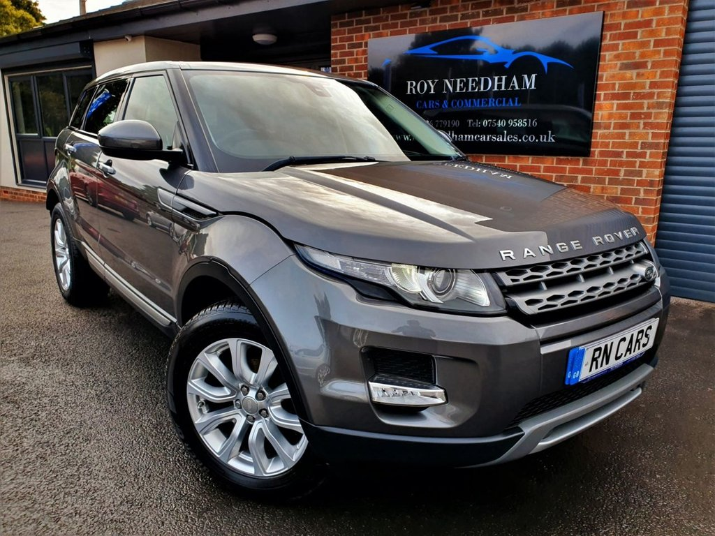 USED 2014 64 LAND ROVER RANGE ROVER EVOQUE 2.2 SD4 PURE 5DR 190 BHP * DAB - HEATED LEATHER - R/SENSORS *