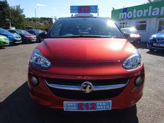 USED 2013 63 VAUXHALL ADAM 1.4 SLAM 3d 85 BHP **CLICK AND COLLECT ON YOUR NEXT CAR**