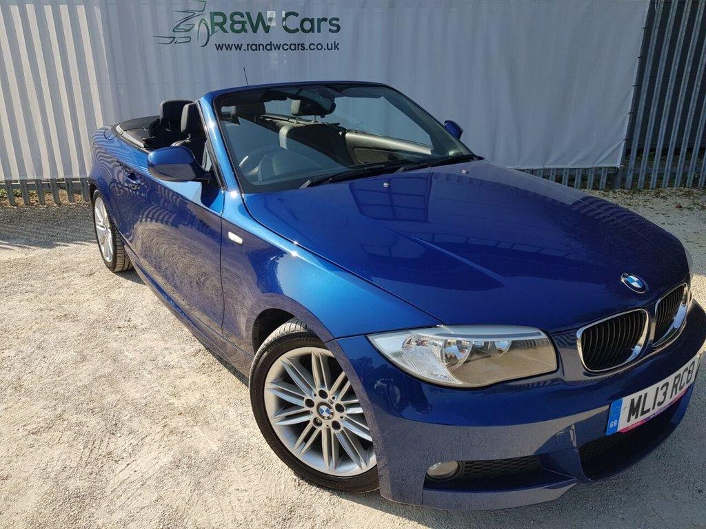 USED 2013 13 BMW 1 SERIES 2.0 118D M SPORT 2d 141 BHP