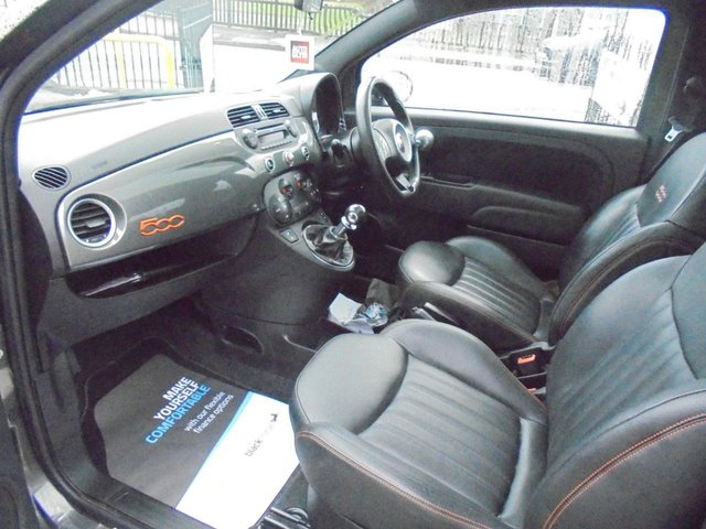 USED 2014 14 FIAT 500 0.9 TWINAIR GQ 3d 85 BHP **BOOK YOUR TEST DRIVE NOW **