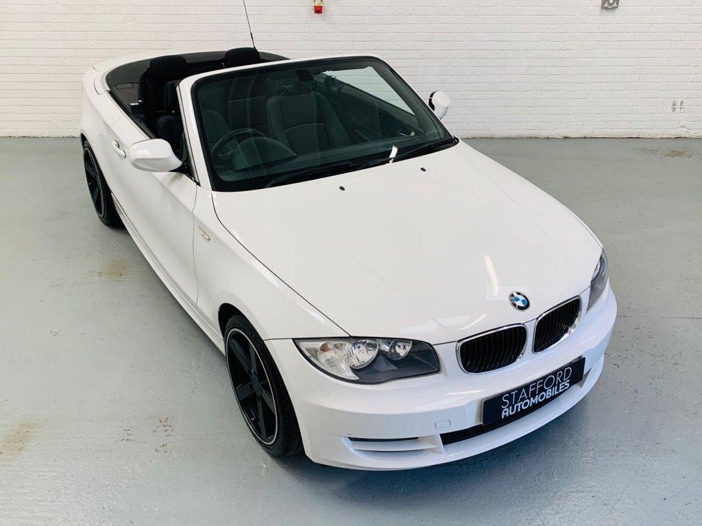 USED 2010 10 BMW 1 SERIES 2.0 118D SPORT 2d 141 BHP 18IN ALLOYS, HANDSFREE KIT