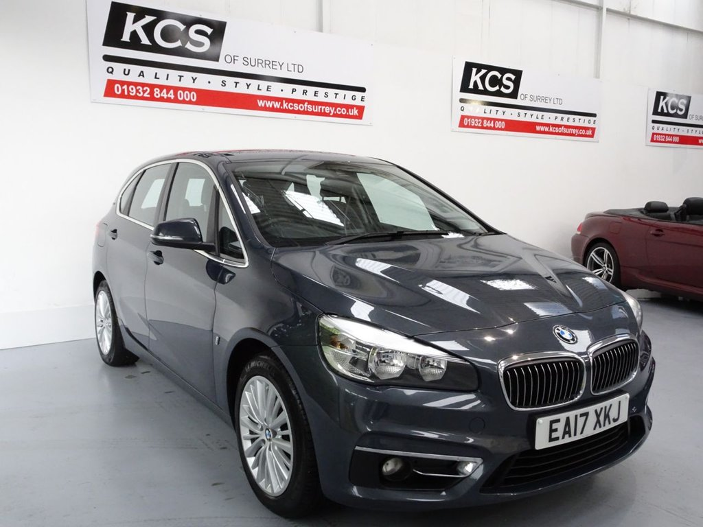 USED 2017 17 BMW 2 SERIES 1.5 225XE PHEV LUXURY ACTIVE TOURER 5d 134 BHP SAT NAV - LEATHER - DAB