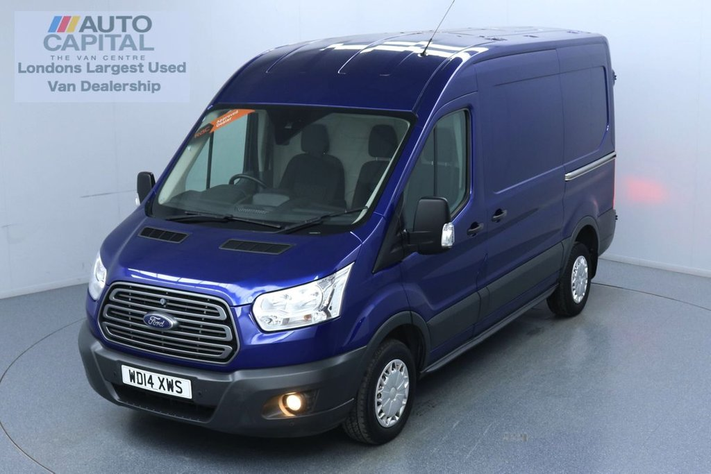 USED 2014 14 FORD TRANSIT 2.2 290 Trend L2 H2 125 BHP No VAT Trade sale only | No warranty