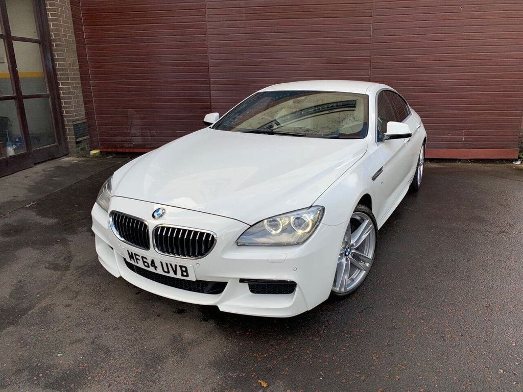 USED 2014 64 BMW 6 SERIES 3.0 640D M SPORT GRAN COUPE 4d 309 BHP Massive Spec, M6 Extras!