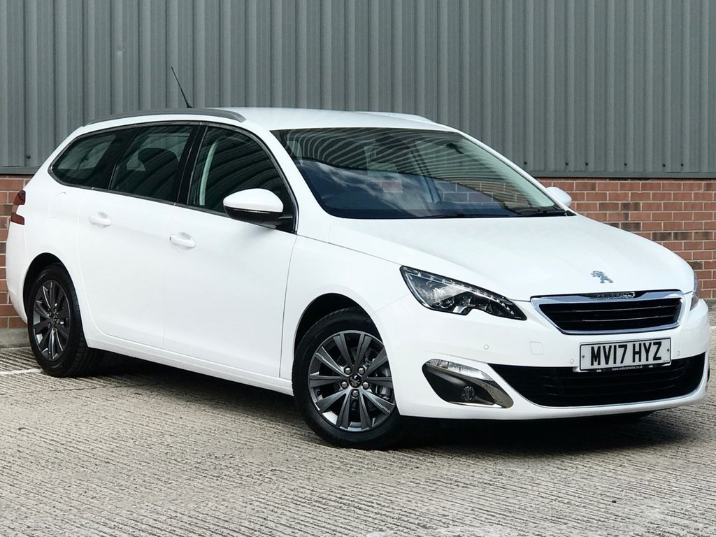 USED 2017 17 PEUGEOT 308 1.6 BLUE HDI S/S SW ALLURE 5d 120 BHP EXCELLENT LOW MILEAGE EXAMPLE