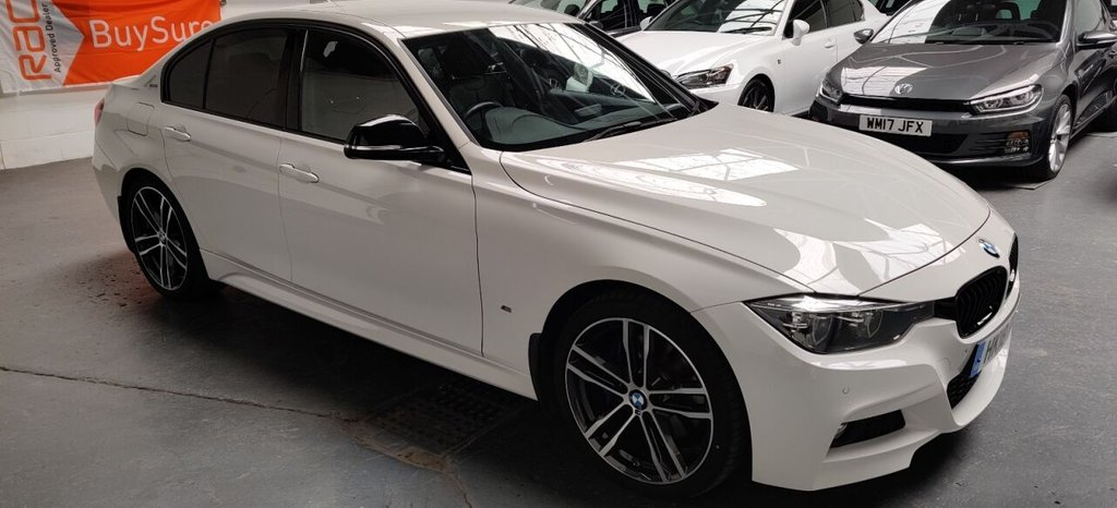 USED 2018 18 BMW 3 SERIES 2.0 330E M SPORT SHADOW EDITION 4d 249 BHP